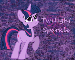 Twilight Sparkle Wallpaper by PrincessCandra
