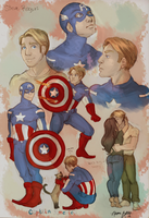 Star Spangled Man With a Plan by naomi-makes-art73