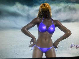 Kira's Swimsuit (Front2) by Firedawn4