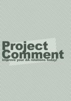 Project Comment Poster by CyberChristFF