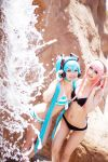 Vocaloid - Miku and Luka - Swim Ver. by Kurai-Hisaki