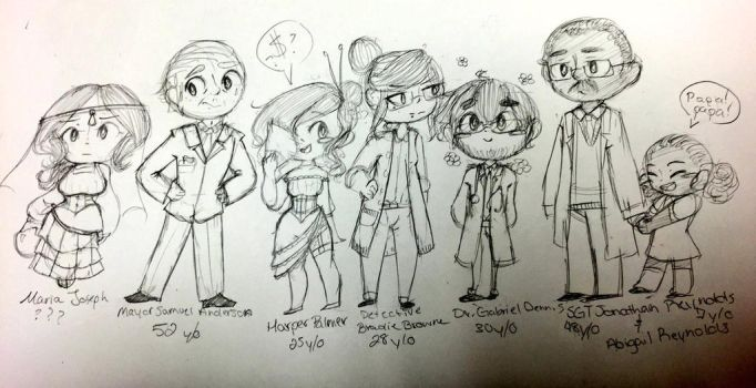 BUNCH OF OCS by ProximityCore