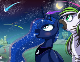 the night lights up for you luna by hyperfreak666