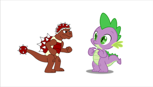 Spike And The Midget Dragon Mad Prickle by Zacharygoblin55