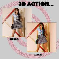 Action 3D by JBxGomezGlamour