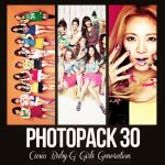 +Photopack 30- Girls' Generation |Casio Baby-G| by DreamingDesigns