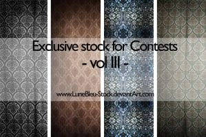 Contests Exclusive - vol 3 by LuneBleu-Stock