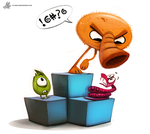 Day 819. #QBERT by Cryptid-Creations