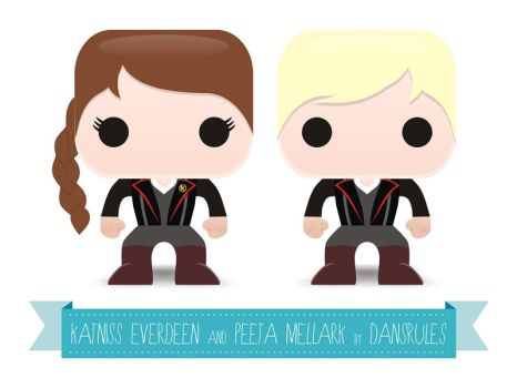 PaperToys Hunger Games by Dansrules by dansrules