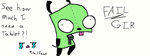 Fail GIR by 123AnimeAddict321