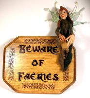 Beware of Faeries by mysticalis