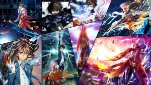 Guilty Crown Collage by Dinocojv