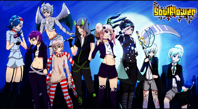 Character line-up : Contest Entry by BlackSpoiler
