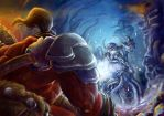 DOTA2: Rage and Cold by Belzark