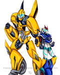 AT_bumblebee and flashgear by TheDarkstarlduxd