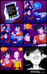 New trouble for Superman by SpideyHog