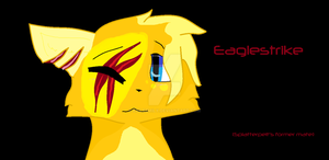 Eaglestrike (mother of Whitespot and Goldenfur) by ExileEmily