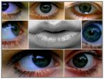 my eyes and my lips by kkassulaav