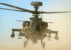 Riding on Apache Iraq War 2003 by SoFDMC
