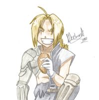 .:Edward Elric:. by marballz