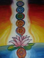 chakras  by geeKISSexy