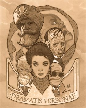 The League: Dramatis Personae by AdamHughes