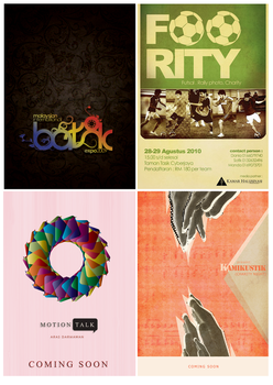 Posters mix by gaLrcka