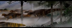 T.REX hunting. by Christopher252