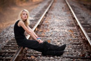 black and blonde and steel by Tommy8250