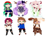 Chibis Adoptables  by VerioLove2000