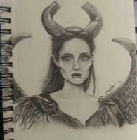 maleficent by kayleighOMG