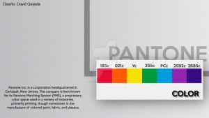 Pantone - Infograph by ibolzurikato