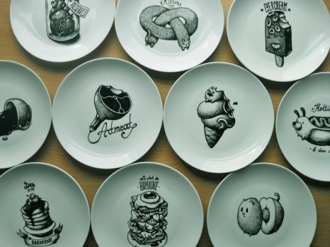 Plate drawings by room4shoes