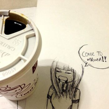 Coffee, come to mama by belnika