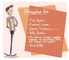 Shopping list by superlaky
