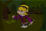Request - Pirate Mandy in the Swamp by tmntsam