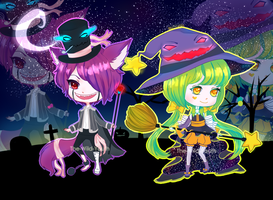 Adoptable 10+11:HALLOWEEN[SET PRICE][OPEN] by The-Wild-Youth