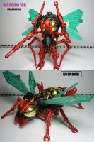 Beast Wars figures: Waspinator. -Transmetal- by Lugnut1995