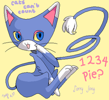 Cats can't count. by drill-tail