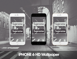 Supreme iPhone 6 HD Wallpaper by GFXKinect