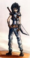Female SOLDIER by coolstergraphics