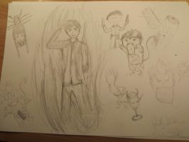 Mhhh my first try on some Ao no Exorcist ! by Mokkwill