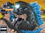 Godzilla Vs Garuda II by Warriorking4ever