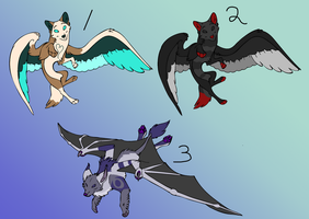 Canine Adoptables 3 by AliceTheHunted