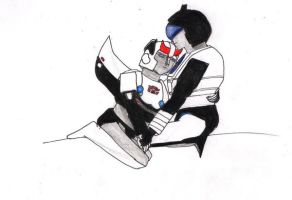 Prowl and Jazz 2 by lucrezianoin2001