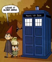 Over The Tardis by Arkham-Insanity