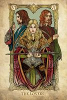 Tarot: The Lovers by SceithAilm