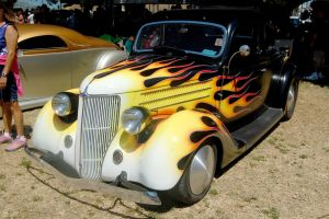 1936 Ford Cabriolet coupe by CZProductions