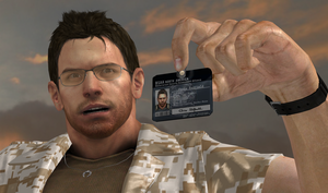 Chris BSAA identification card by bstylez
