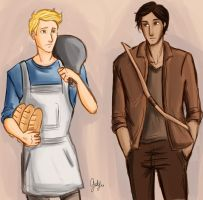 The Baker and the Hunter by odairwho